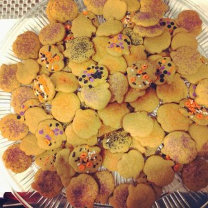 Pumpkin Cut-out Cookies for #SundaySupper