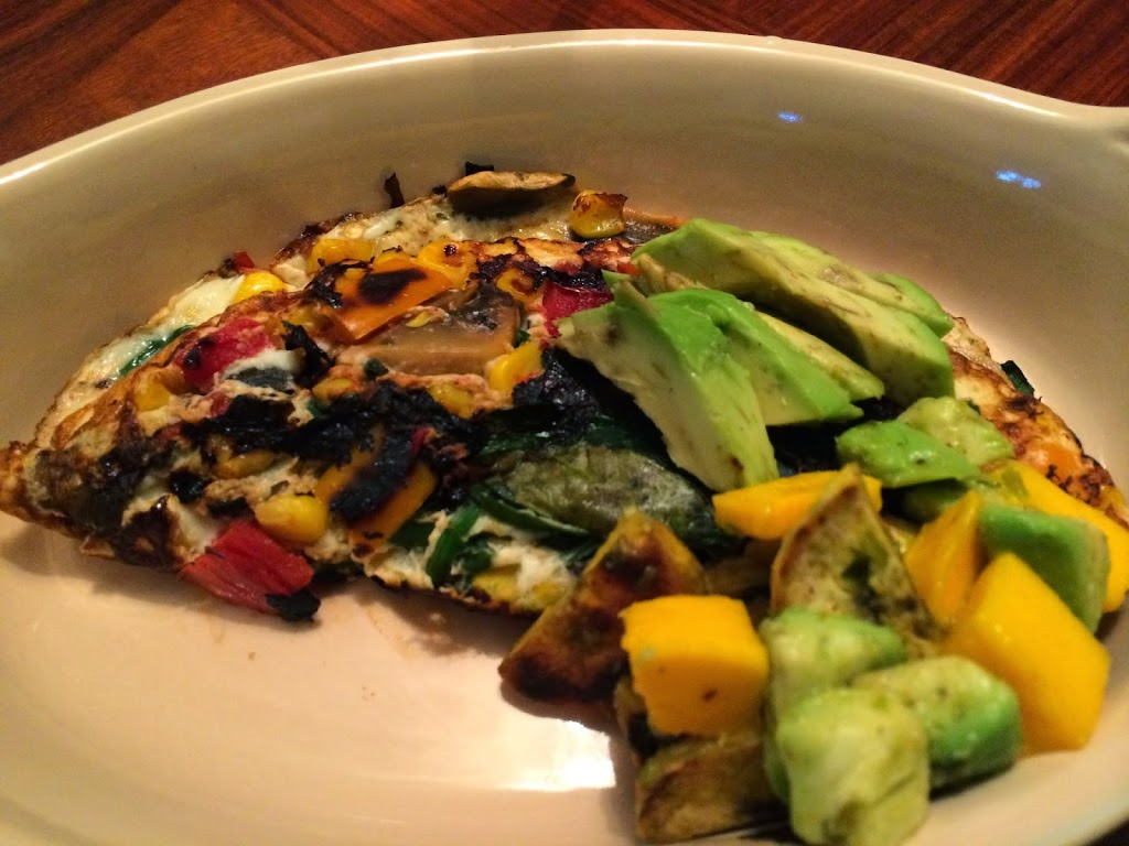 Mexican Omelet with Plantain, Avocado and Mango Hash #BrunchWeek