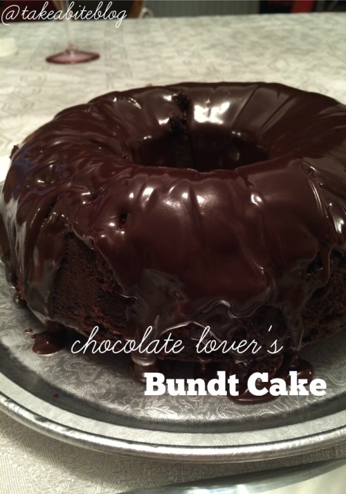 Chocolate Lover S Bundt Cake Chocolateparty Take A Bite