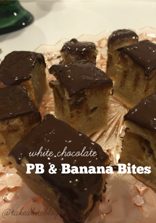 White Chocolate PB & Banana Bites