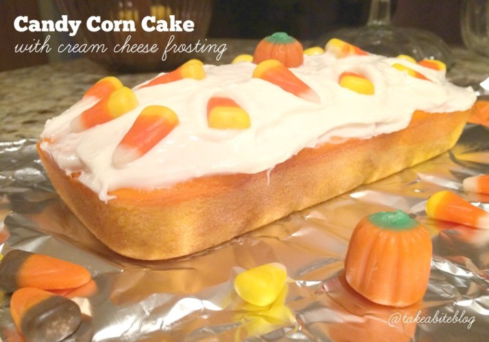 Candy Corn Cake With Cream Cheese Frosting Leftoversclub