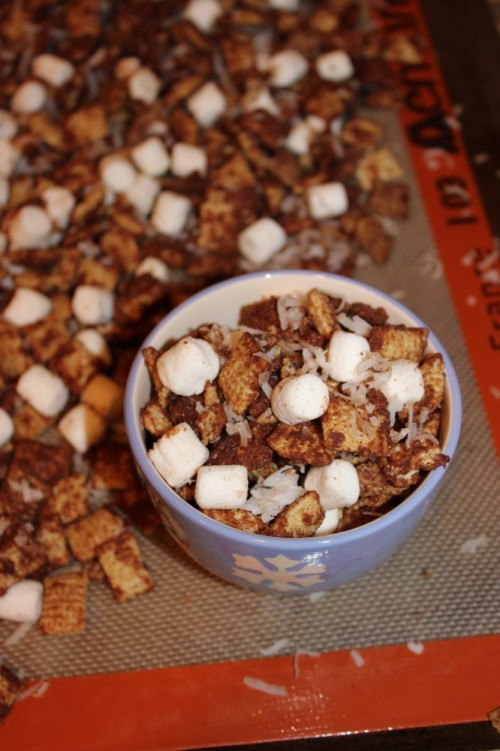 mexican hot chocolate chex party mix