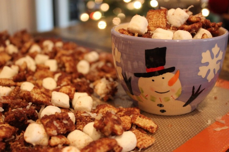 Chex ™ Mix a makeover with this Mexican Hot Chocolate Chex Party Mix ...