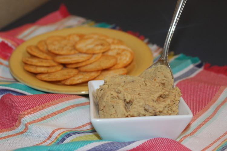 Mediterranean Spiced Hummus #SundaySupper