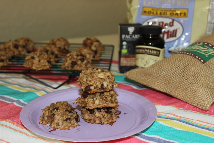 Flourless Oatmeal Coconut Breakfast Cookies #Brunchweek
