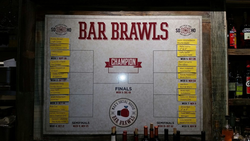 Bar Brawls Bracket