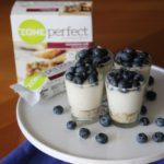 Mini White Chocolate Blueberry Pie with ZonePerfect