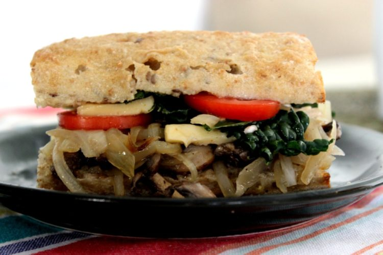 Vegetarian Philly Cheesesteak #SundaySupper