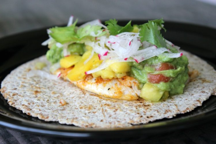 Blackened Lionfish Tacos