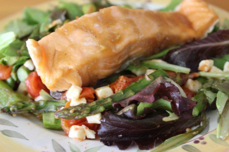 Spring Salmon Salad